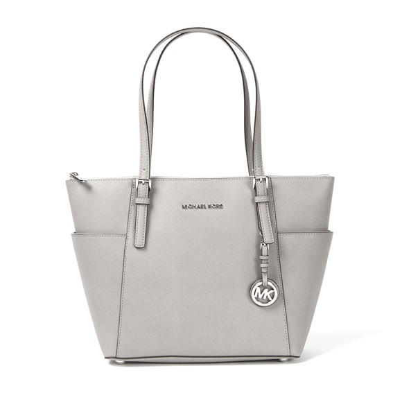 Michael Kors Womens Grey Jet Set East West Tote Bag main image