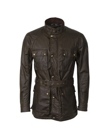 Belstaff Mens Green Roadmaster Jacket
