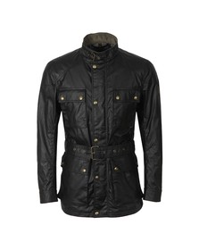 Belstaff Mens Black Roadmaster Jacket