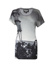 Barbour International Womens Grey Wing T Shirt
