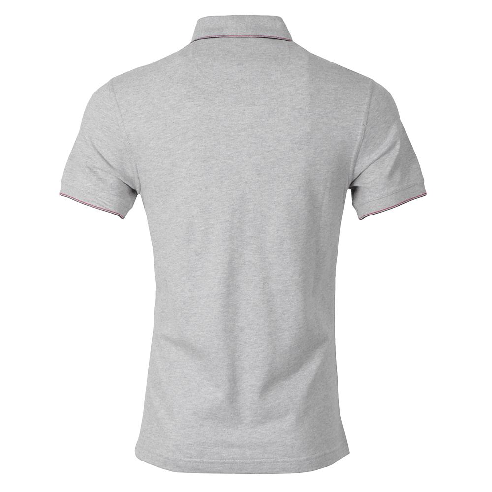 6fe0fe6b9e31 Barbour Int. Steve McQueen Mens Grey Jump Pique Polo Shirt