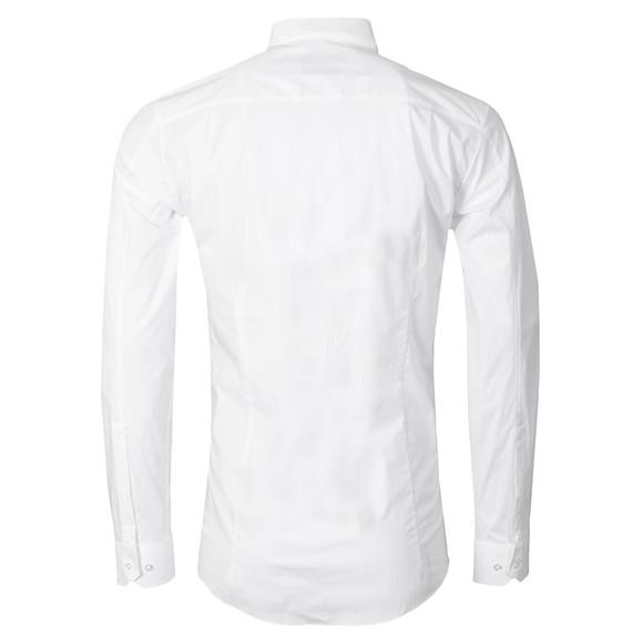 HUGO Mens White Elisha Slim Shirt
