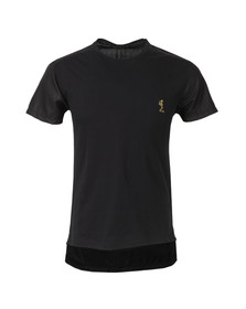 Religion Mens Black Closed Crew T Shirt