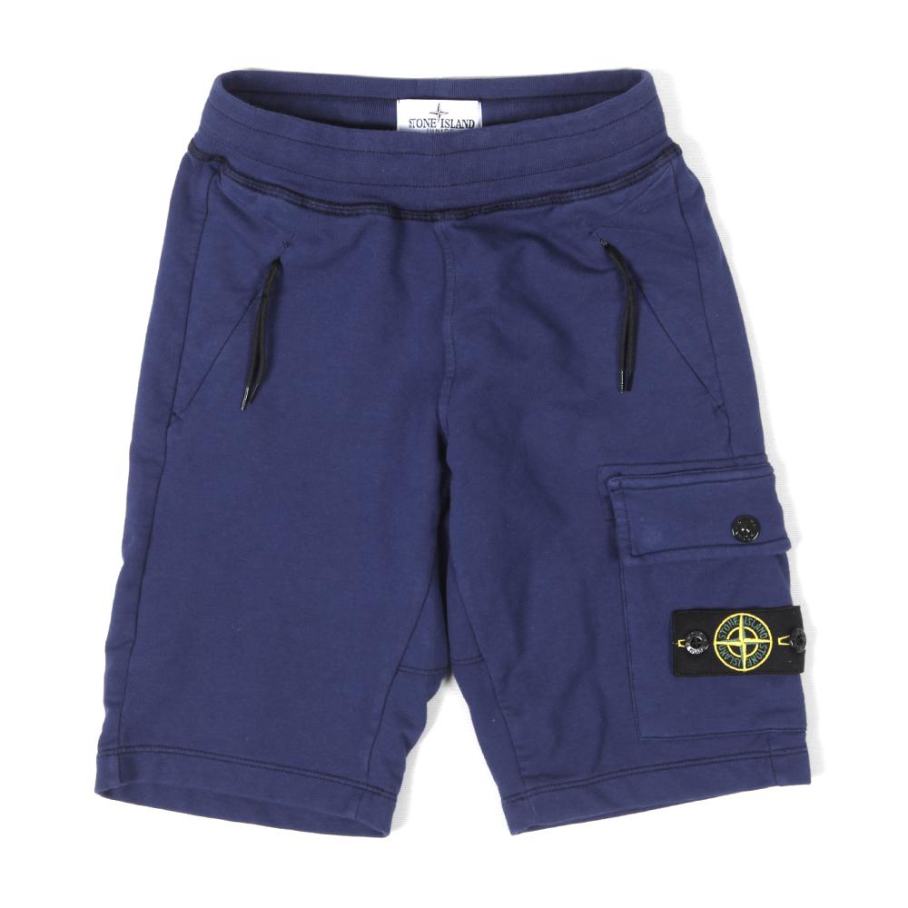9da6a8d965 Stone Island Junior Cargo Sweat Short | Oxygen Clothing