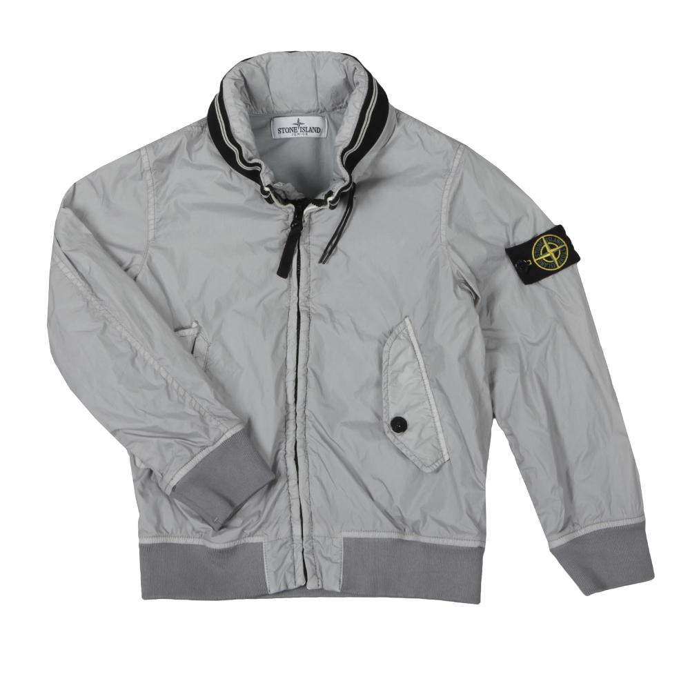 2781a812e Boys Grey Membrana Bomber Jacket