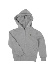 Lyle And Scott Junior Boys Grey Classic Zip Hoody