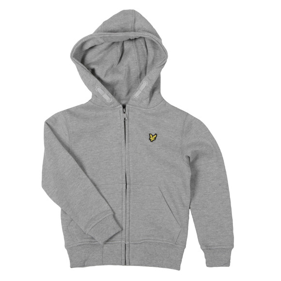 Lyle And Scott Junior Boys Grey Classic Zip Hoody main image