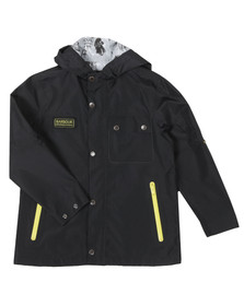 Barbour International Boys Black Boys Hornet Jacket