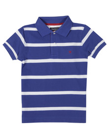 Hackett Boys Blue YD Logo Polo Shirt