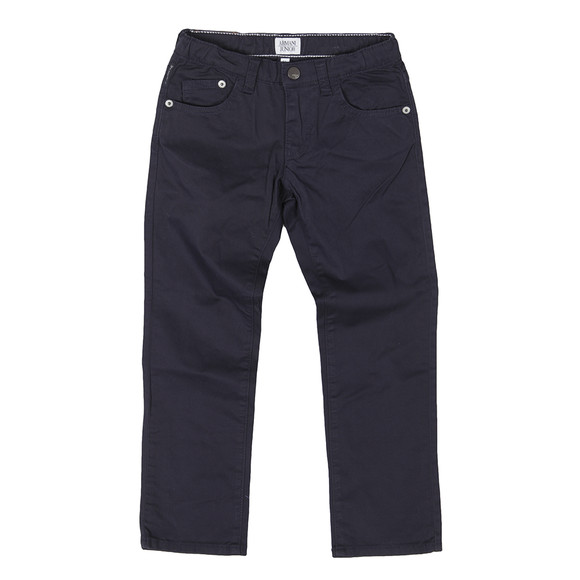 Armani Junior  Boys Blue A4J15 Lightweight Chino main image