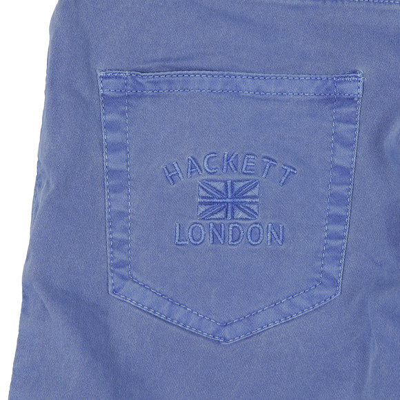Hackett Boys Blue Garment Dye Short main image