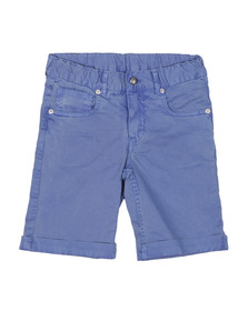 Hackett Boys Blue Garment Dye Short