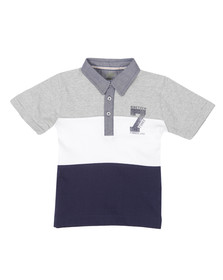 Timberland Boys Blue T25H49 Polo Shirt