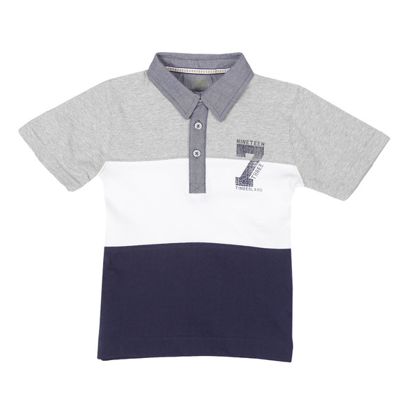Timberland Boys Blue T25H49 Polo Shirt main image