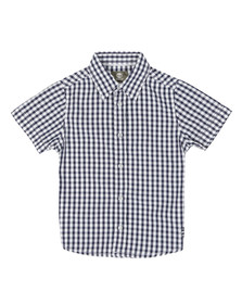Timberland Boys Blue T25H61 Gingham Shirt