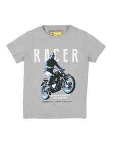 Barbour Steve McQueen Boys Grey Boys Racer T Shirt