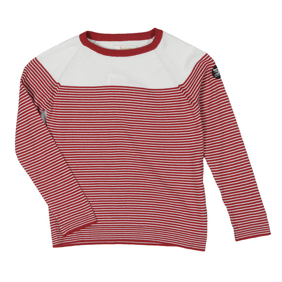 Barbour Lifestyle Girls Red Girls Hope Jumper main image