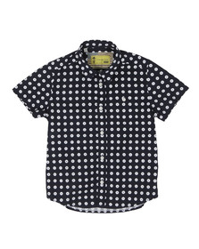 Barbour Steve McQueen Boys Blue Boys Parade Shirt