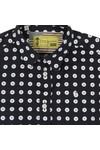 Barbour Int. Steve McQueen Boys Blue Boys Parade Shirt