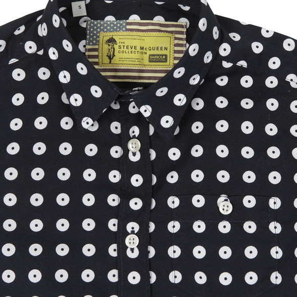 Barbour Int. Steve McQueen Boys Blue Boys Parade Shirt main image