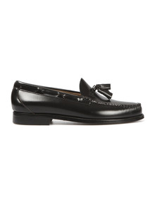 G H Bass & Co Mens Black Larkin Tassle Loafer