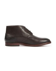 H By Hudson Mens Brown Houghton II Leather Boot