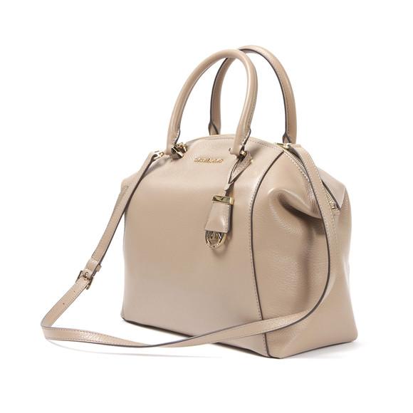 5a159563b5 Michael Kors Womens Beige Riley Large Satchel Bag main image