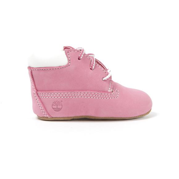 Timberland Girls Pink Crib Boots & Hat  main image