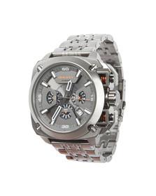 Diesel Mens Silver BAMF DZ7344 Chronograph Watch