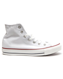 Converse Mens White All Star Hi Trainers