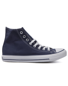 Converse Womens Blue All Star Hi Trainers
