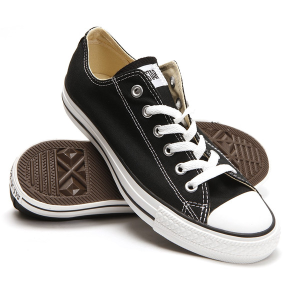 Converse Mens Black All Star OX Trainers main image