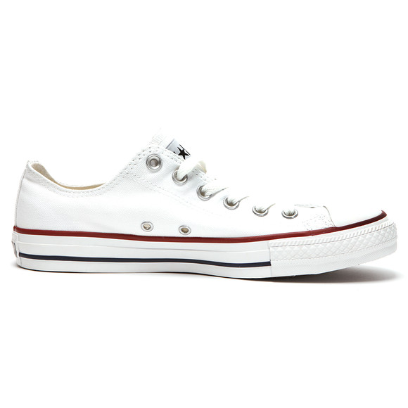 Converse Mens White All Star OX Trainers main image