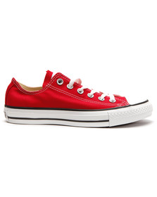 Converse Mens Red All Star OX Trainers