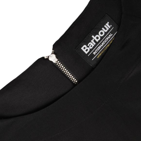 Barbour International Womens Black Dera Top main image