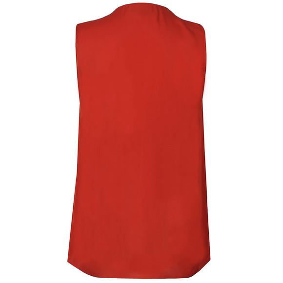 Michael Kors Womens Red Zip Top main image