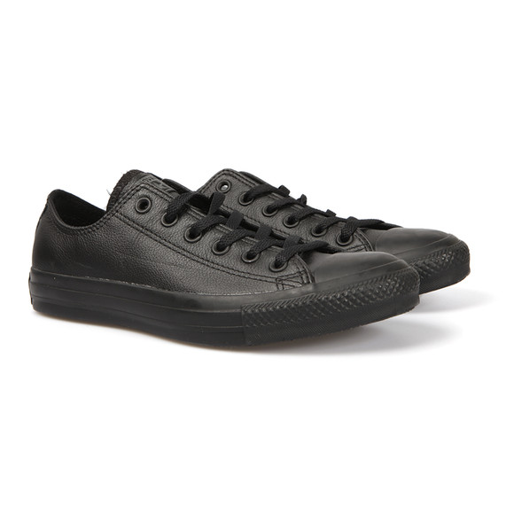 Converse Womens Black All Star Leather Ox main image