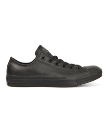 Converse Womens Black All Star Leather Ox