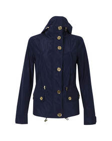 Michael Kors Womens Blue Mini Anorak