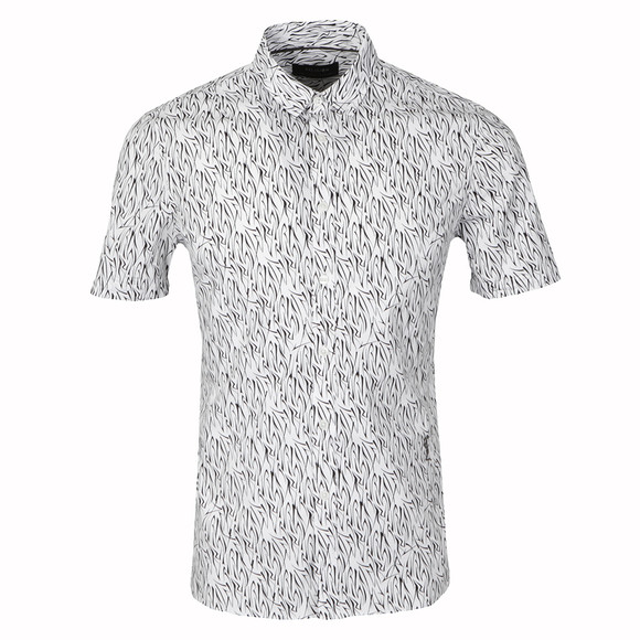 Religion Mens White Tribe Shirt main image