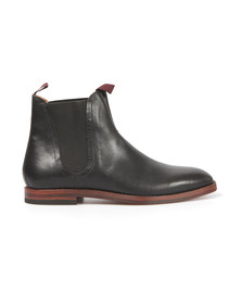 H By Hudson Mens Black Tamper Boot