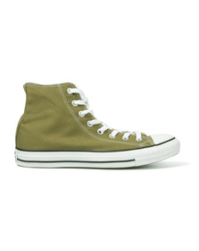 Converse Womens Green All Star Seasonal Hi Trainers