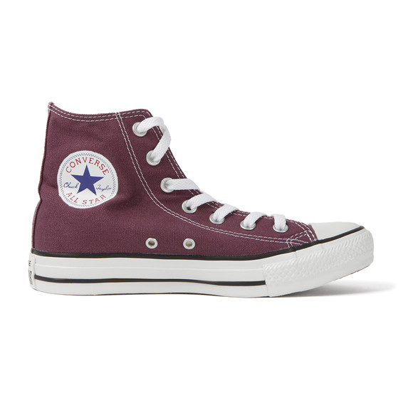 Converse Womens Purple All Star Seasonal Hi Trainers main image
