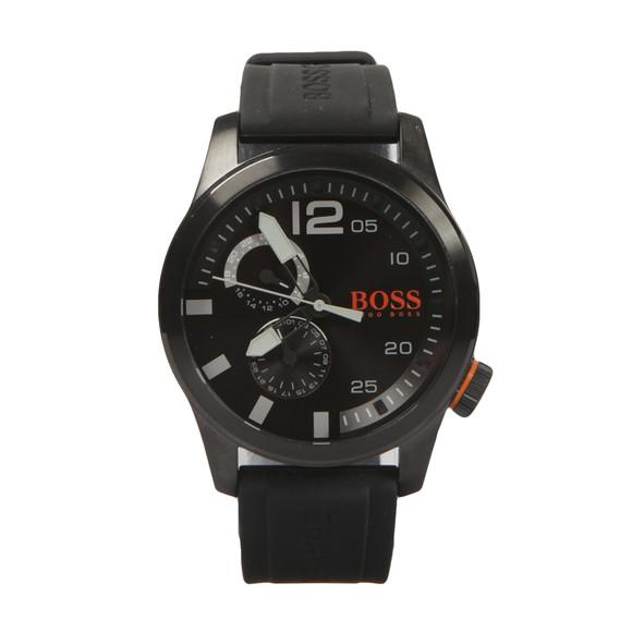 BOSS Mens Black Casual Paris Silicon Strap Watch