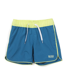 Boss Boys Blue J04186 Swim Short