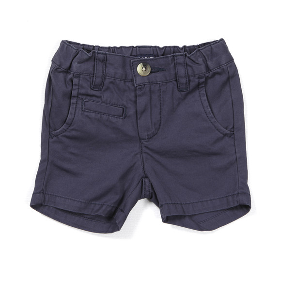 Gant Boys Blue Summer Chino Shorts main image