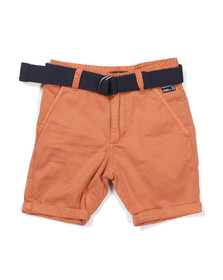 Timberland Boys Red Boys Chino Short With Belt