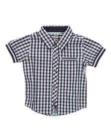 Timberland Boys Blue T05E81 Check Shirt