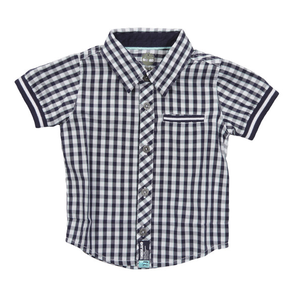 Timberland Boys Blue T05E81 Check Shirt main image