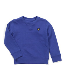 Lyle And Scott Junior Boys Blue Classic Crew Sweatshirt